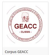 Corpus GEACC - ORTOLANG